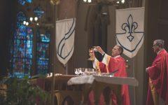 SLU Community Gathers for Mass of the Holy Spirit