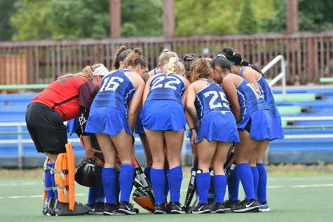 Field hockey scores four