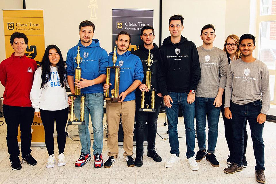 Photo Courtesy of SLU Chess Team