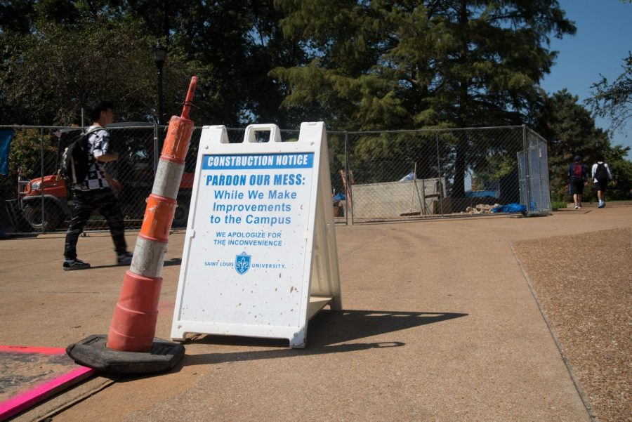 Construction on Campus: What's Going On?