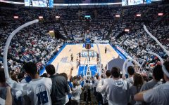Billikens Show Heart in White-Out Game