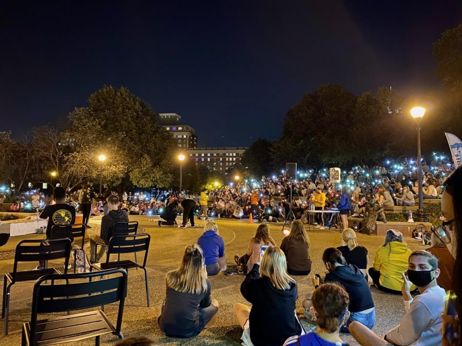 The night of September 26, Saint Louis University students held a community discussion and vigil for Taylor at the clock tower of North Campus.