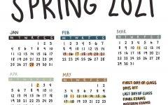 Provost Announces Spring 2021 Academic Calendar