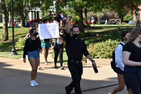 Jesuits Protest Injustice Against Black Lives