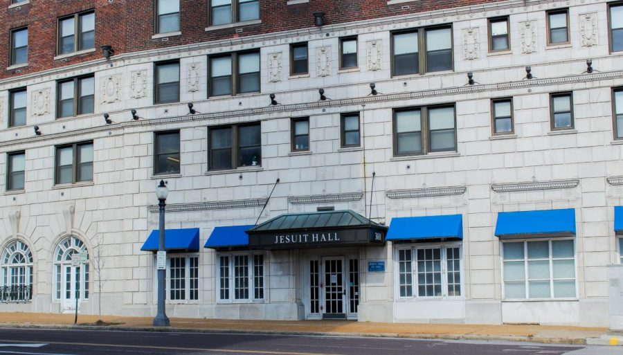 Jesuit Hall, 3601 Lindell Blvd.